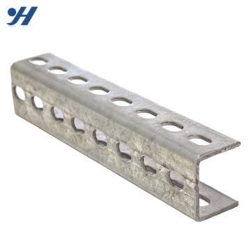 Tailles de canal en acier inoxydable Tailles de canal en acier u galvanisé