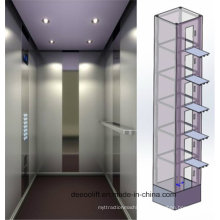 High Speed Safe Low Noise Home Passenger Elevator