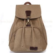 ОЕМ холст классической школы дети рюкзак мешок школы