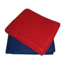 100% полиэстер флис авиакомпания одеяло с огнезащитным (SSB0101)