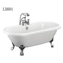 Clawfoot Freestanding Acrylic Bathtub