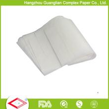 Papel de cocinar de la panadería de la hoja del papel de la hornada del silicón de los 40cmx60cm
