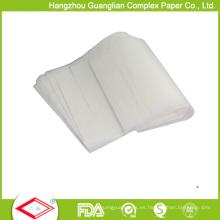 Papel de hornear antideslizante del pergamino del silicón 420X620m m