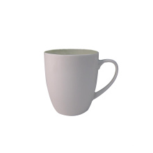 Bone China Becher 12oz Plain White