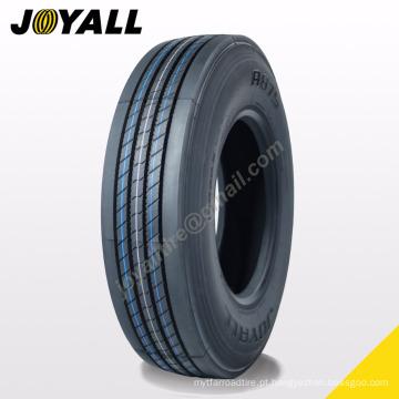 JOYALL fábrica chinesa TBR pneu A875 super sobre a carga e resistência à abrasão 295 / 75r22.5 para o seu caminhão