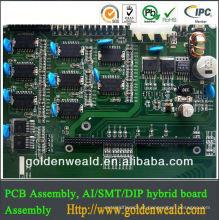 projeto e conjunto solares do PWB Placa de circuito para o adaptador do poder de comutação