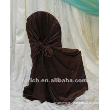 Capa de cetim saco cadeira, cadeira universal/auto-tie tampa, tampa da cadeira para hotel/banquetes