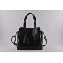 PU New Design Fashion Tassel Weave Lady Handbag (NM-W06)