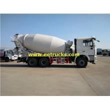 10 CBM 6x4 SHACMAN Concrete Mixer Trucks