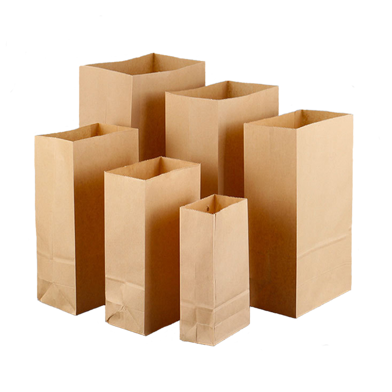 Brown Kraft Paper Storage Bag
