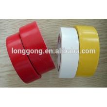 PVC vermelho isolamento elétrico fita