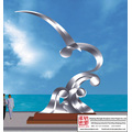 Stainless Steel Seabird Sculpture