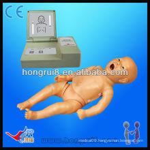 Advanced full functional baby CPR dolls, medical newborn mankins