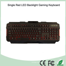 Multiple Language Available Single Red Color LED Gamer Keyboard (KB-1901EL-R)