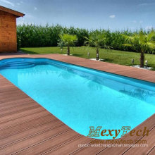 Wood Plastic Composite Decking, WPC Decking for Swimming Pool