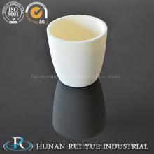 Hohe Temperatur Reinheit Keramiktiegel Aluminiumoxid Tiegel Boot für Rohrofen