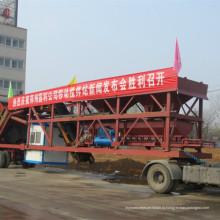 Сертификат CE Yhzs35 мобильный бетонный завод используется