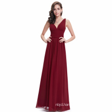Women Evening Dresses Mermaid V Neck Evening Dress Party Dresses