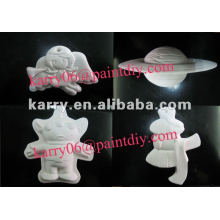 diy painting toy for children,Promotional Gifts,Various forms of ceramic paint toys