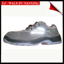 Zapatos de seguridad de suela PU / TPU con punta de acero