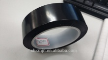 Black polyester powder coating tape