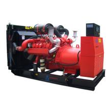 550kVA 440 кВт дизельный бесшумный генераторный комплект