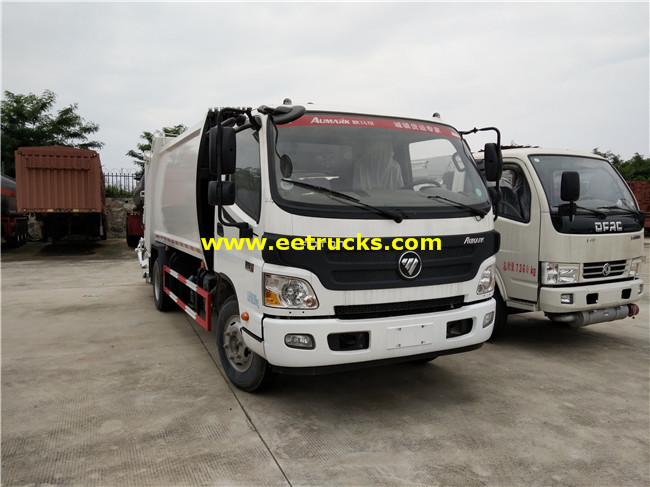 Foton 1500 Gallon Waste Collection Vehicles