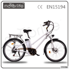 MOTORLIFE/OEM EN15194 BRAND 36V 250W 26inch electric bicycle for adults