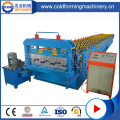 Hydraulic PPGI Roof Steel Deck Roll Forming Machine