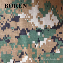 Tissu de camouflage numérique