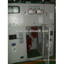 Medium-voltage switchgear, switchboard with load break switch