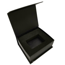 Custom Printing Magnetic Closure Gift Box With Foam Inlay Auto Spare Parts Packaging Pox