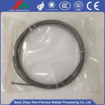 99.95% purity Tungsten wire for Vacuum Furnace
