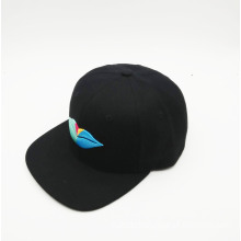 Simple 3D Embroidery Plain Snapback Hip-Hop Cap