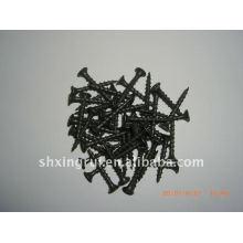 Parafusos de drywall delicados de fosfato preto