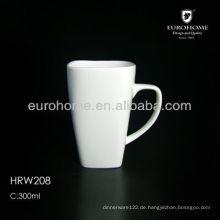 Porzellan-Becher, Porzellan-Kaffeetasse, Porzellantasse
