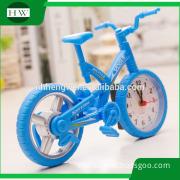 kids bike shape Bicycle Creative model Fashion children watch Novel student alarm clock