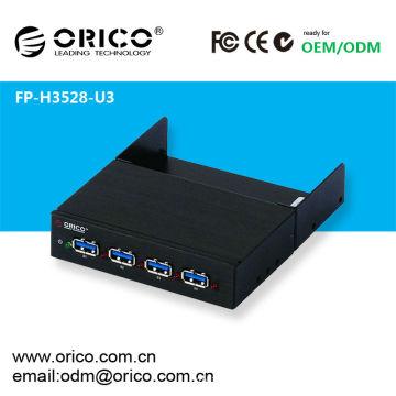 ORICO FP-H3528-U3 Espacio de la unidad de disquete Hub USB3.0, Carcasa del ordenador Panel frontal USB 3.0