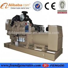 CCS / BV habilitado grande gerador diesel de energia C KTA38 gerador marinho 800KW para venda