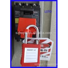 Dispositif de verrouillage du disjoncteur approuvé CE Verrouillage de sécurité électrique