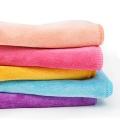 Serviettes de cuisine en microfibre colorées