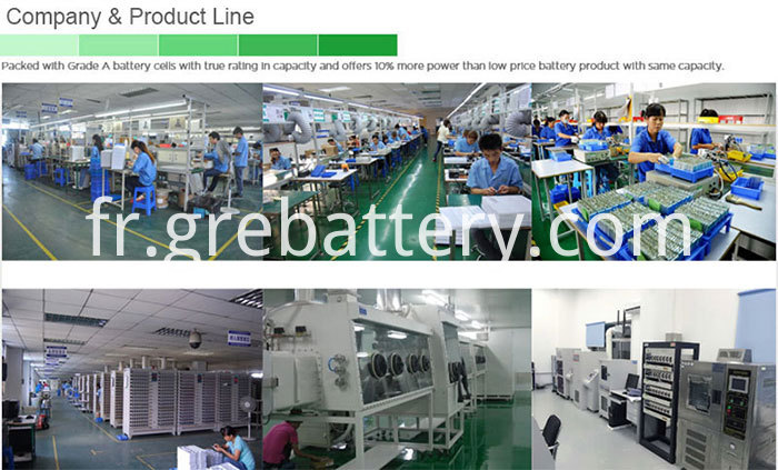 Rechargeable Lithium Ion Polymer Battery