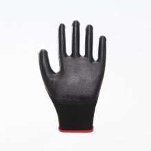 Polyester Shell Nitrile Palm Coated Work Gloves