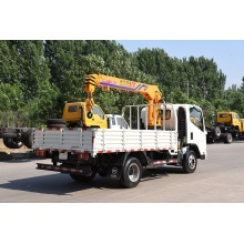 High Quality Industrial Factory for Truck Mounted Mobile Crane 3 ton crane truck boom truck export to India Suppliers