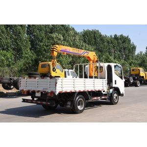 Leading Manufacturer for for Small Truck Crane 3 ton crane truck boom truck supply to Netherlands Suppliers