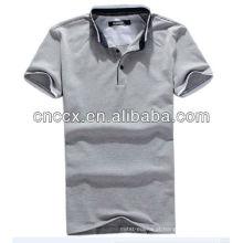 O algodão dos homens 13PT1031 o mais recente novo em massa camisas polo
