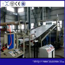 Hoja del PVC de la alta calidad que hace la máquina