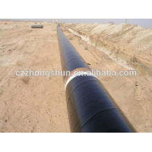 3PE steel pipe SSAW PE COATED FBE HOT SELL TUBE DIN ASTM API