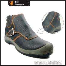 Genuine Leahter Welder Safety Shoe with Steel Toe Cap (SN1550)