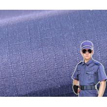 Policía uniforme de tela de algodón Ripstop